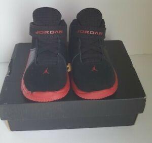 Jordan 5 AM BT Black/GYM Red-Black 807549-002 Infant Size's 5c