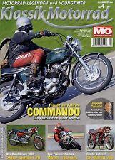 Klassik Motorrad 4/10 2010 Cardani Fisoko Yamaha RD50 Suzuki T20 Norton 750 Comm