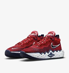 Nike Air Zoom GT Run Size 12 USA Obsidian Red White Blue Navy