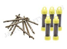 50 pc Double Ended Cobalt M35 Drill Bits- 1/8