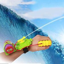 Popular Wrist Spray Swimming Beach Water Gun Toy Xmas Birthday Kid Child Gift