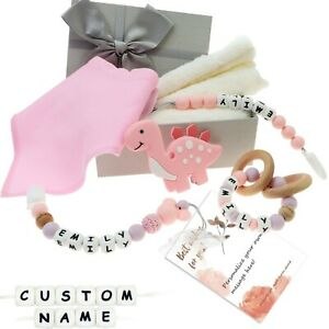 Baby Gift Sets Personalized Name for Newborns Baby Shower with Gift Packing Box