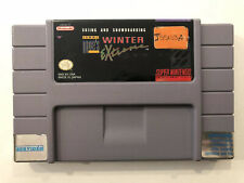 Skiing and Snowboarding Winter Extreme [ Super Nintendo ] Snes • Authentic •