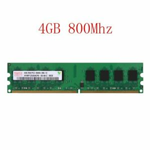 4GB / 2GB DDR2-800MHz PC2-6400U 240pin DIMM PC Intel Memory RAM For Hynix Lot 02
