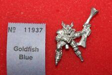 Goblin Rider with Blunderbuss Metal Figure Miniature Rackham Warhammer Fantasy