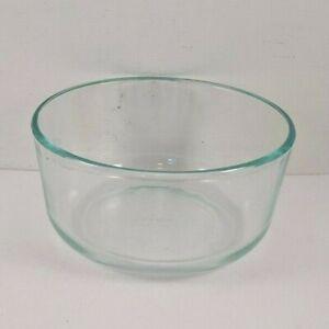 "PYREX 7201 Blue Tint Bowl 4 Cup 1 Qt Quart 950 ml 3"" x 6"""