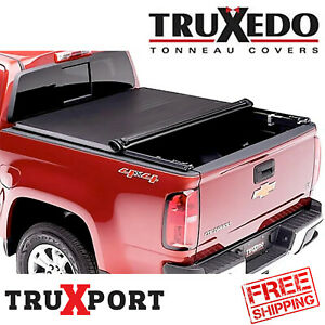 TruXedo Premium Roll Up Tonneau Cover 2019-2021 Chevy Silverado 1500 5.8Ft Bed