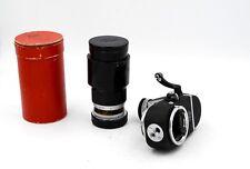 LEITZ LEICA TELYT 20cm f/4.5 L39 or M LENS w/ Visoflex II + Caps Box Hood OTXBO