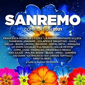 SANREMO 2021 - COMPILATION - 2CD NUOVO SIGILLATO PREORDINE DAL 5 MARZO