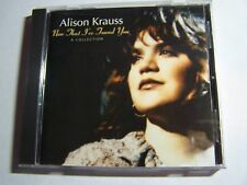 Alison Krauss - Now That I've Found You : A Collection  CD