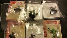 D&D Miniatures Reptilian & Kobold Lot  New in Package w/ Card 6 Miniatures