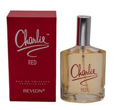 CHARLIE RED * Revlon Perfume for Women * eau de toilette * 3.4 oz * NEW IN BOX