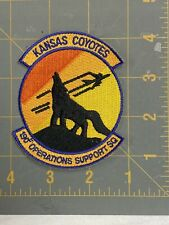 1990s-00s Usaf Kansas Air Guard 190th Operations Support Squadron Coyotes
