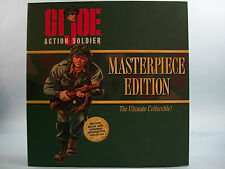 G I Joe Action Soldier Masterpiece Edition Vol I Action Figure & History Book