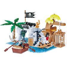 Cobi Pirates The Pirate Bay Kit Toy Figure Kids Playset Blocks 250 Pieces Gift