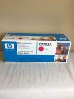 Factory Sealed 2004 HP Color Laserjet Print Cartridge C9703A Magenta 1500-2500
