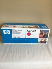 Factory Sealed 2004 HP Color Laserjet Print Cartridge C9703A Magenta 1500-2500