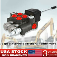 Hydraulic Directional Control Valve For Tractor Loader , 2 Spool , 11 GPM USA