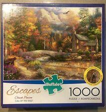"Buffalo 1000 Piece Puzzle - Escapes (Chuck Pinson) - ""Call of the Wild"""