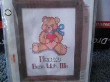 Please Bear With Me Cross stitch kit