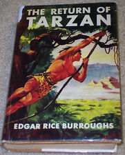 THE RETURN OF TARZAN  Edgar Rice Burroughs HC/ DJ G&D BOYS EDITION 1955