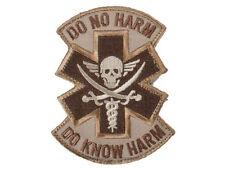 MILSPEC MONKEY Morale Patch Do No Harm (Pirate) Medic paramedic emt DESERT