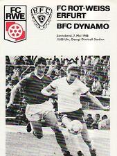 OL 87/88  FC Rot-Weiß Erfurt - BFC Dynamo Berlin