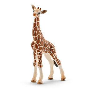 SCHLEICH Wild Life Giraffe Calf Toy FigureÊ SCH-14751