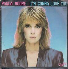 /45 TOURS 2 TITRES / PAULA  MOORE  I M  GONNA LOVE YOU