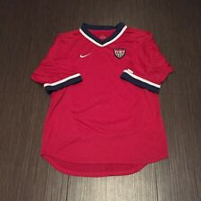 USA National Soccer Team Adult Small FIFA Red Nike Football Jersey