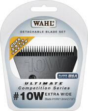Wahl ULTIMATE COMPETITION 10 WIDE BLADE Take Down Quick*Fits Many Andis Clipper