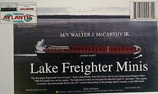 Walter J. McCarthy Jr. Great Lakes Freighter Paper Model Atlantis Toy & Hobby