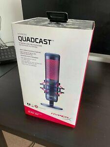 HyperX QuadCast Corded Gaming Microphone - Black