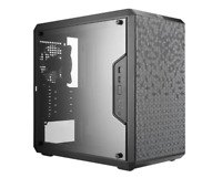 Cooler Master MasterBox Q300L mATX Mini Tower Case with Full Side Panel Display