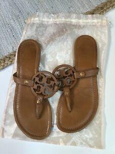 Tory Burch Miller Sandals Tan Size 8