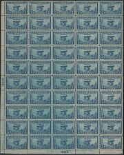 "#650 Var. Full Sheet Of 50 ""Prairie Dog"" Variety Hv8161"