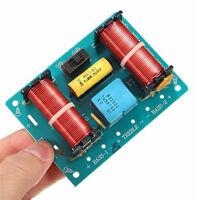 Treble Bass 3 Way Frequency Divider Altoparlante Audio Crossover Filtr Board DIY