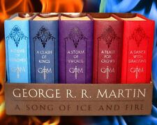 Song of Fire and Ice Book Collection Series Game of Thrones Leather Bound Set