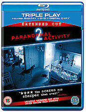 Paranormal Activity 2   (Very Good)(UK Blu Ray) Free Postage