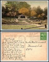 INDIANA Postcard - Spencer, McCormick's Creek Canyon Park, Open Air Theatre M14