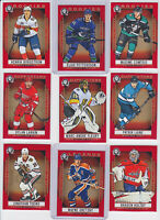 2018-19 O-Pee-Chee Coast To Coast RED Parallels U-PICK Finish your Set OPC 1-210