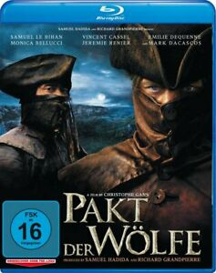 Brotherhood of the Wolf (2001) Directors Cut Blu Ray Import New/Sealed