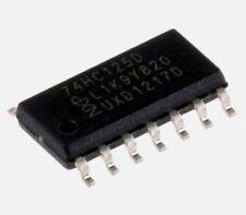 5PCS Nouveau 74HC125 74HC125D SOP14 SMD Quad 3 − état Non Inverseuse tampons