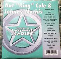LEGENDS KARAOKE CDG NAT KING COLE & JOHNNY MATHIS OLDIES #20 CD+G 15 SONGS