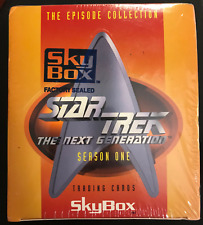 1994 SKYBOX STAR TREK THE NEXT GENERATION SEASON ONE BOX SEALED
