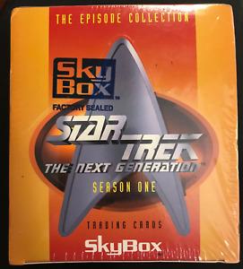 1994 SKYBOX STAR TREK THE NEXT GENERATION SEASON ONE BOX SEALED