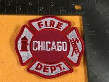 J1-52 CHICAGO FIRE DEPARTMENT PATCH - CHICAGO FIRE DEPARTMENT - SMALLER