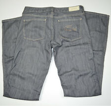 NWT LACOSTE Gray Stretch Flare Leg Cotton Jeans Sz 28 x 36 Tall
