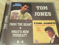 Tom Jones - From The Heart + What's New, Pussycat? ( AUDIO CD in JEWEL CASE )