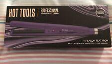 "Brand New Hot Tools Professional Ceramic Tourmaline 3/8"" Salon Flat Iron Ul7124"